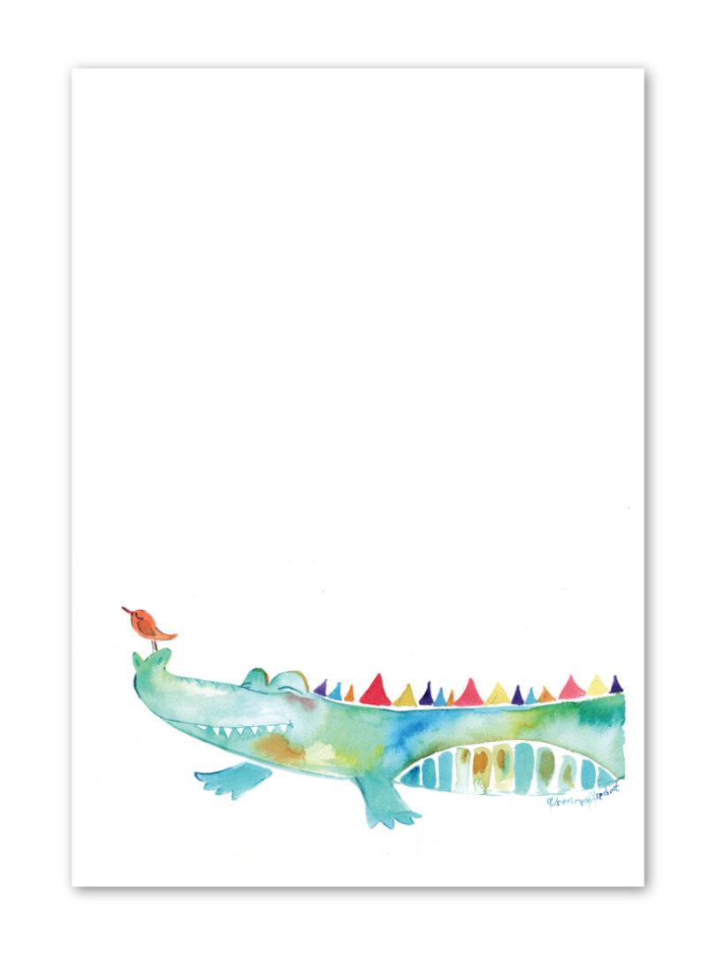 crocodile-print
